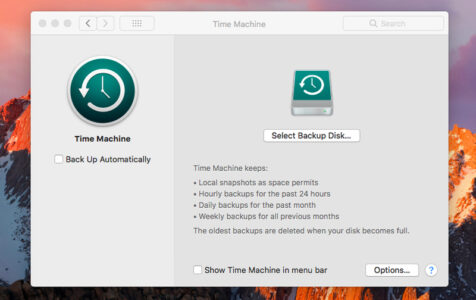 How to Make a Time Machine Server on Your Mac 1