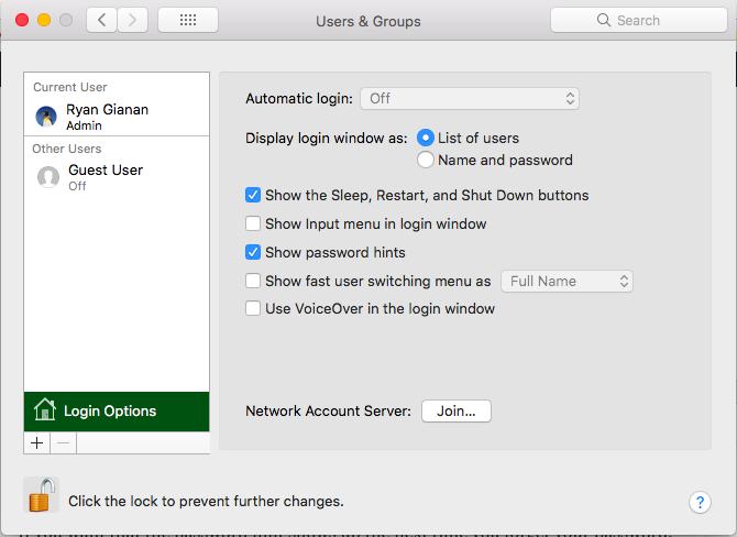 how to change your computer password mac