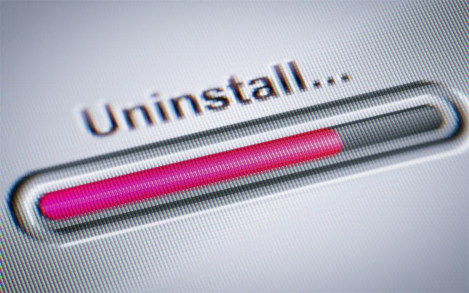 Uninstall Progress Bar