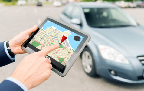 GPS on Tablet PC and Car