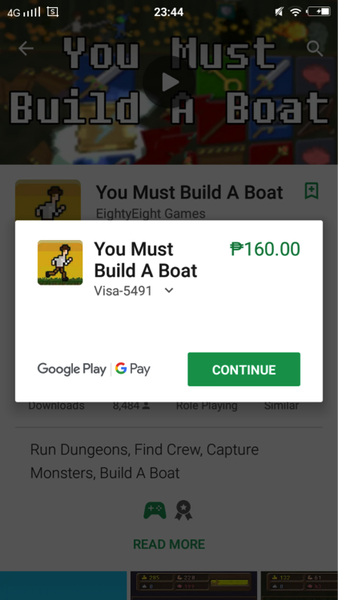You Must Build A Boat App