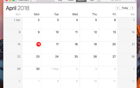 How to maximize your Calendar on Mac 1