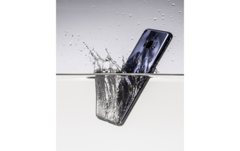 Android Phone in Water