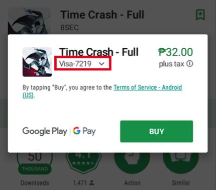 Paid Apps - Visa