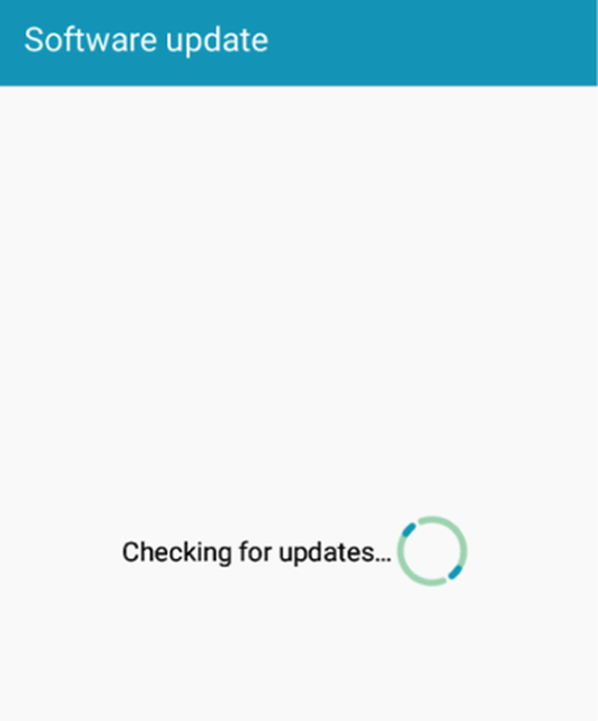 Checking for updates