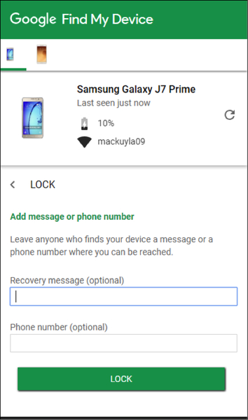 How to Lock and Erase Your Lost Phone