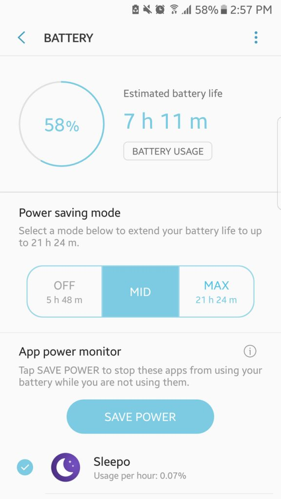 Turn On Your Device's Battery Saver Feature