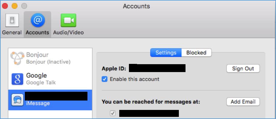 Apple ID Account