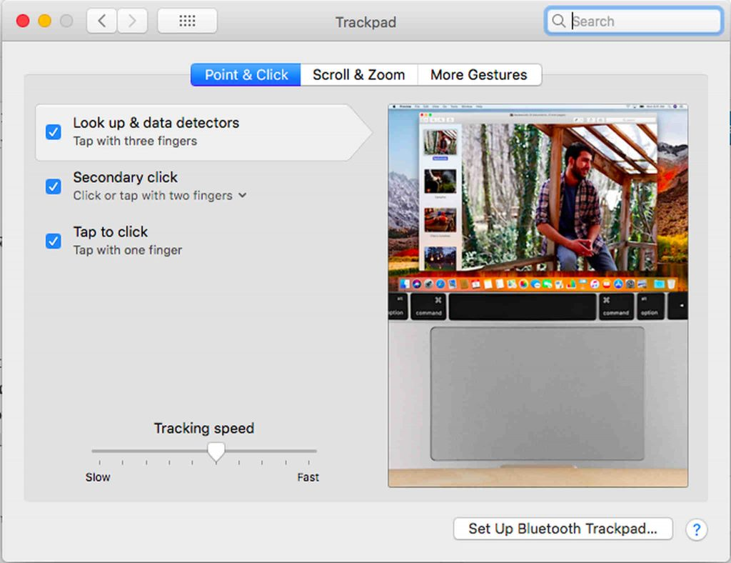 Enabling the Three-Finger Tap on Your Mac