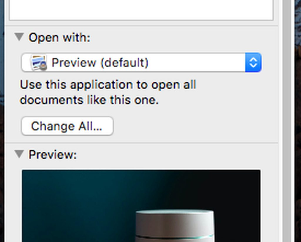 Changing Default Apps For Various Types Of Files