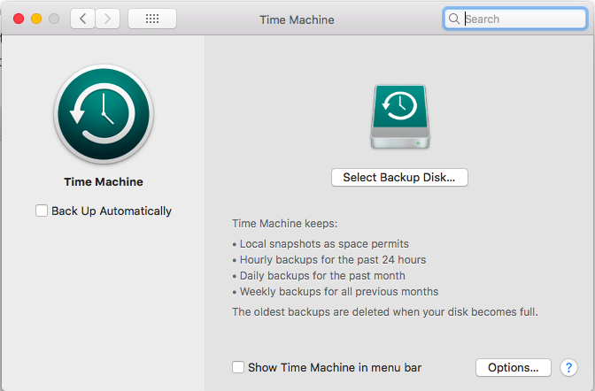Recover individual files from Time Machine