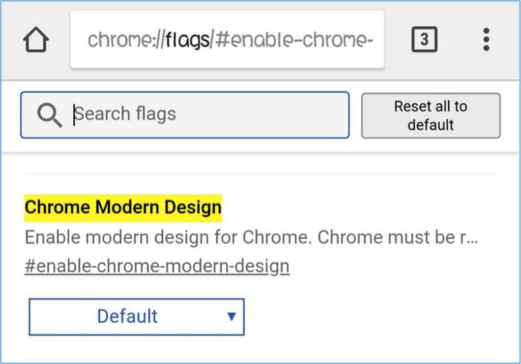 Chrome Modern Design