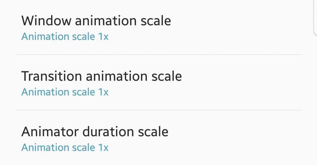 Minimize Animations