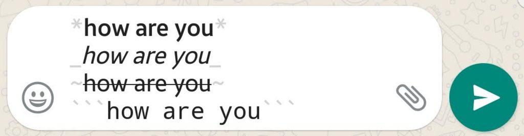 Formatting Texts