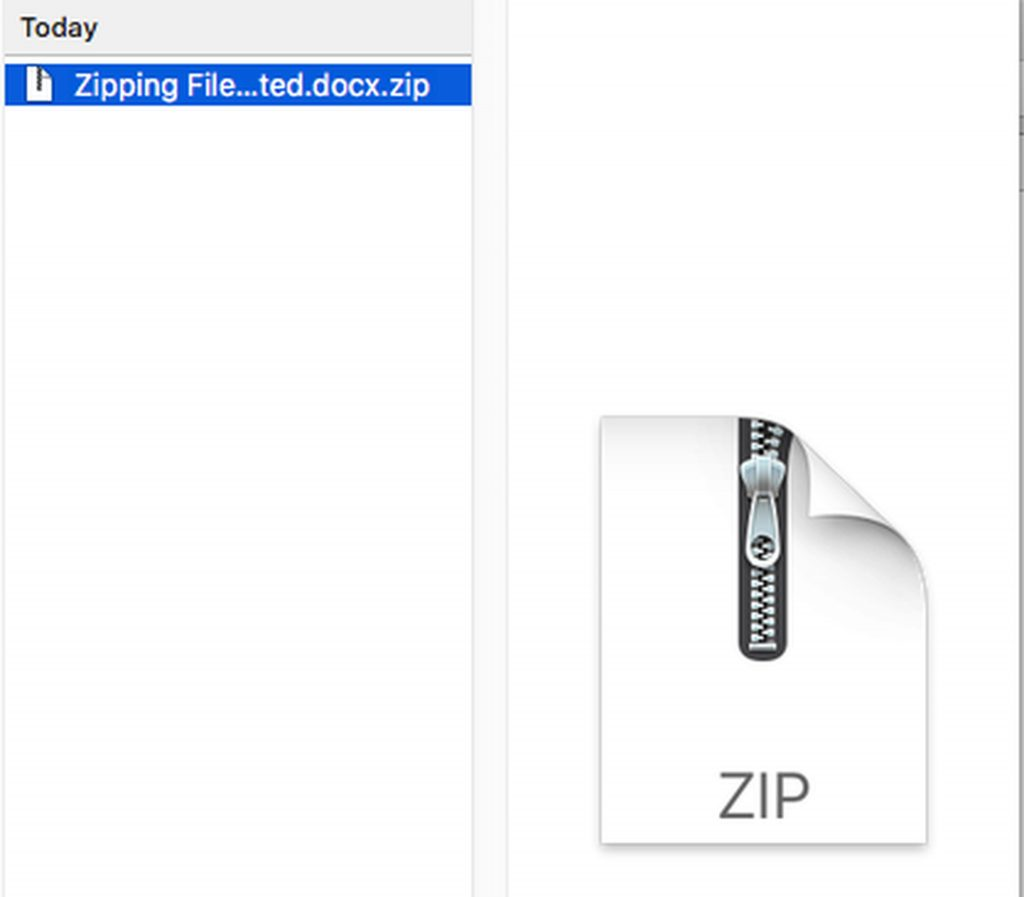 How to Open and Unzip a Zip File on Mac