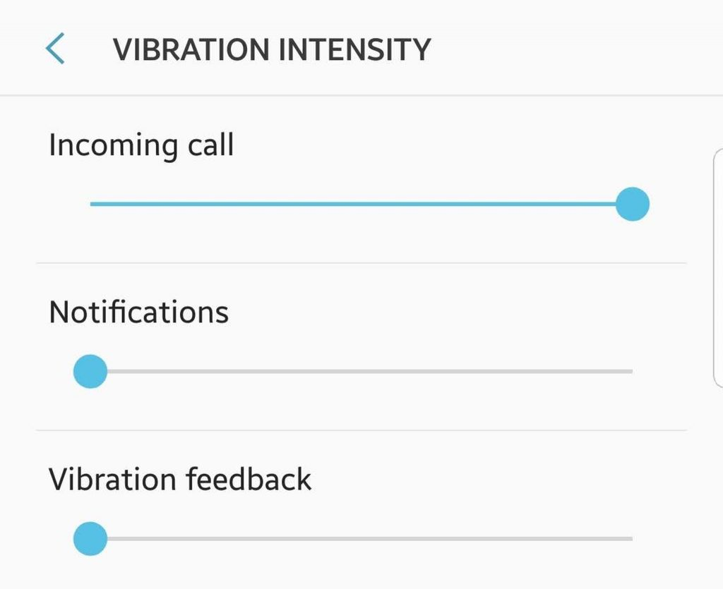 Vibration Intensity