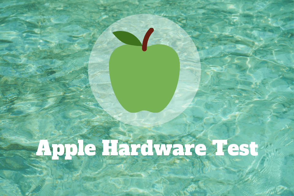 Apple Hardware Test - MacBook Hardware Test - Apple Diagnostics est