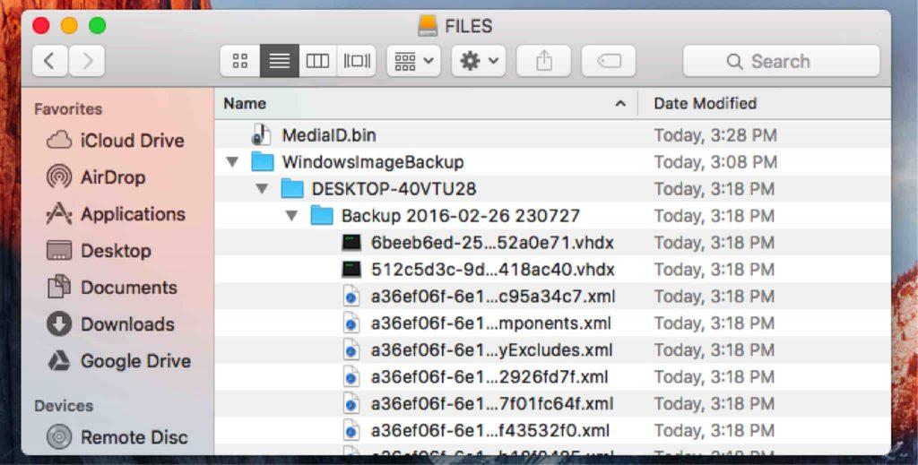 Mac Files