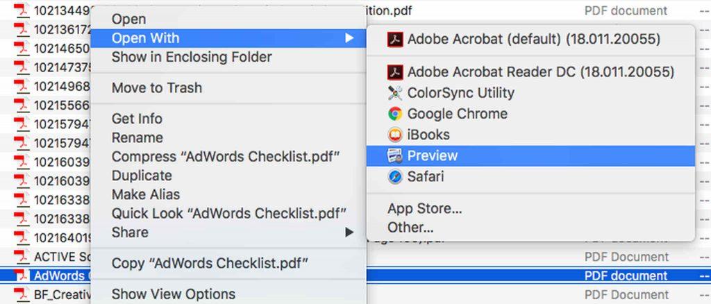 Edit a PDF File Using Preview