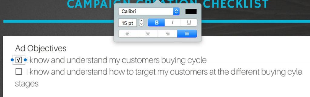 Tick a Checkbox in a PDF
