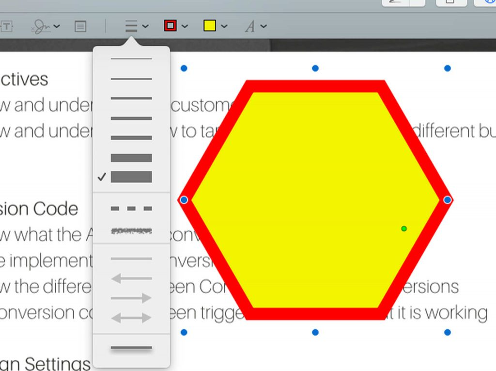 Add Shapes to a PDF File