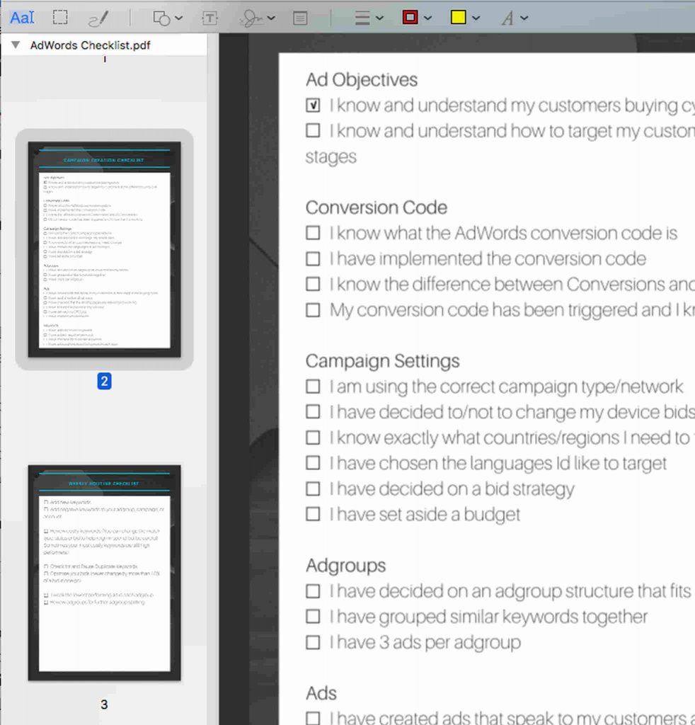 Sort and Add Pages to a PDF