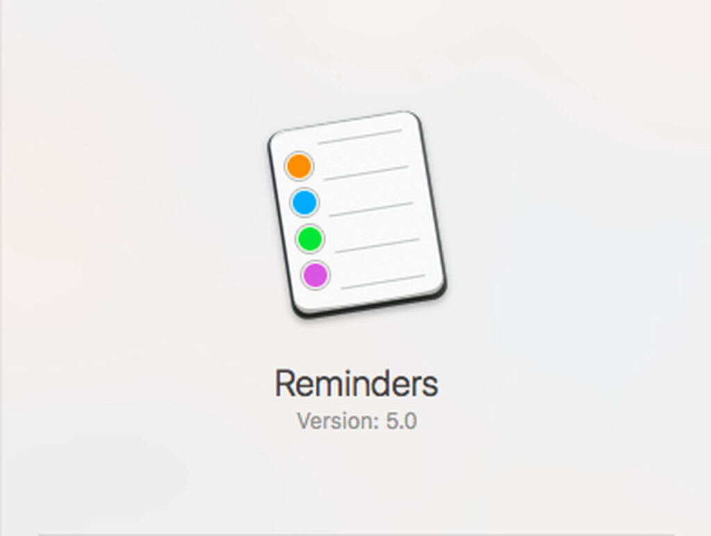 how to delete a reminder on mac