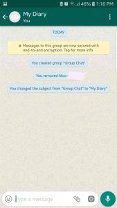Turn WhatsApp Into Your Very Own Diary