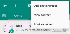 Add Chat Shortcuts to the Homescreen