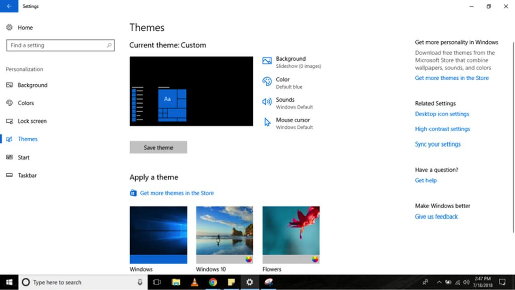 How to Apply a Theme on Your Windows 10 Computer