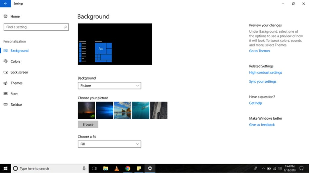 How to Change the Default Wallpaper to a Custom Image