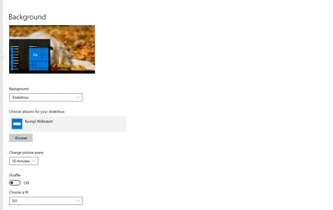 Windows 10 Personalization