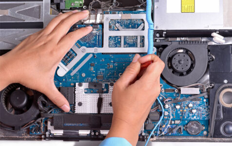 Fixing broken computer