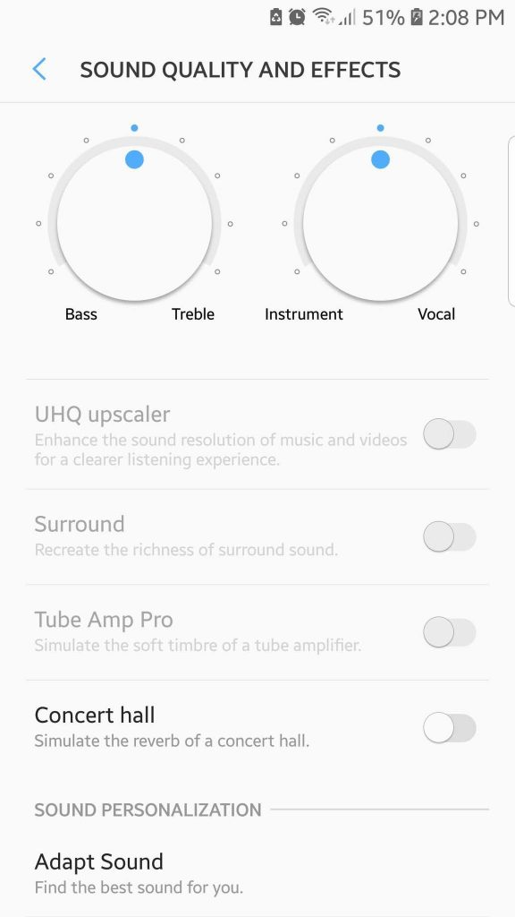 Customize Your Audio