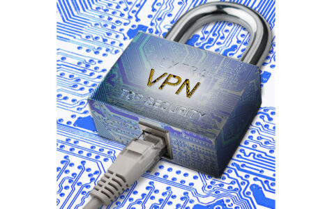 Encrypted communication using VPN