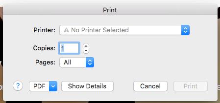 Mac Print