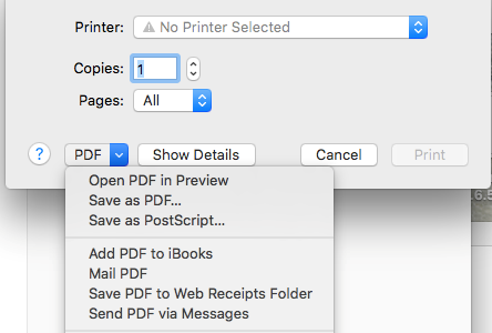 Djvu to pdf for mac