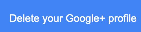 Delete your Google+ profile