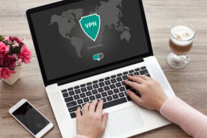 Laptop with VPN