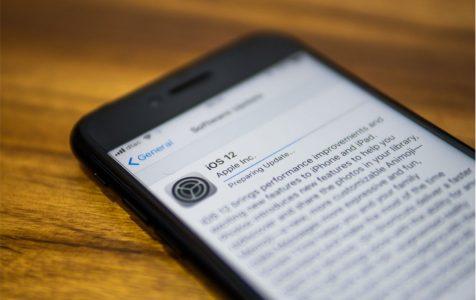 iOS 12 software update information