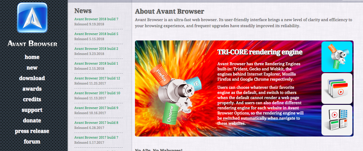 Avant Web Browser