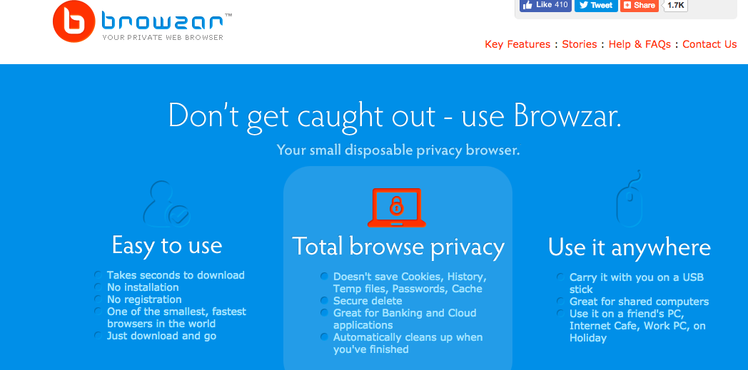 Browzar Web Browser