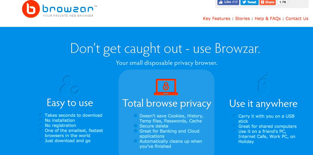 Browzar Web Browser
