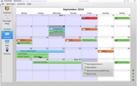 Calendar App on Mac