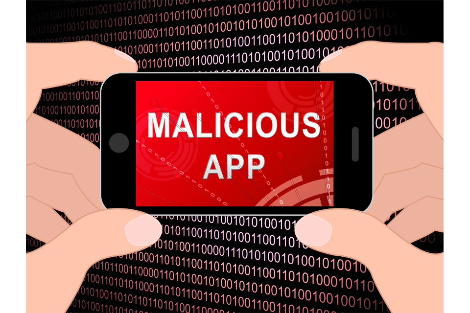 Malicious App Spyware Threat Warning