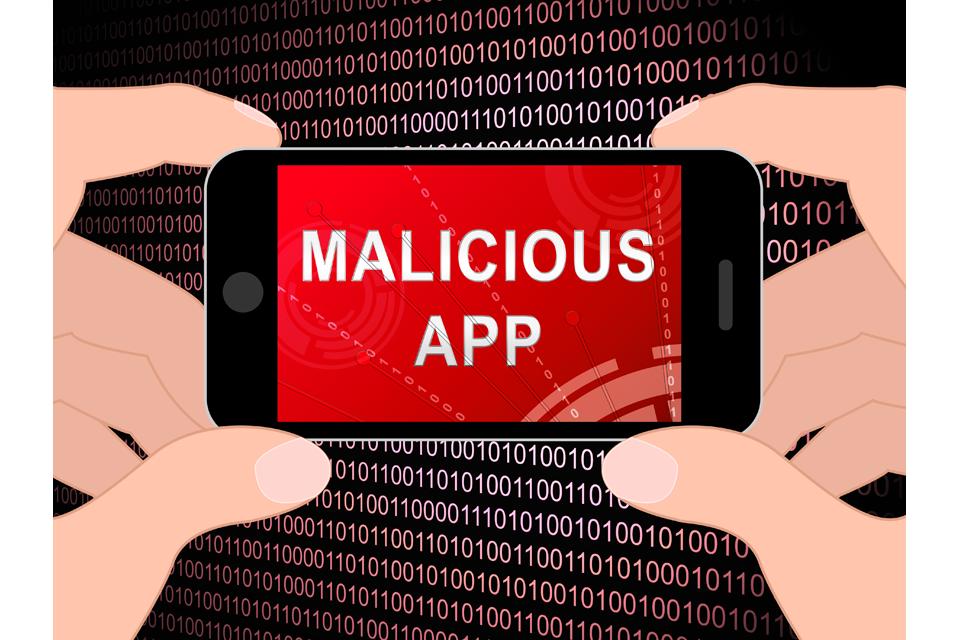 Malicious App Spyware Threat Warning