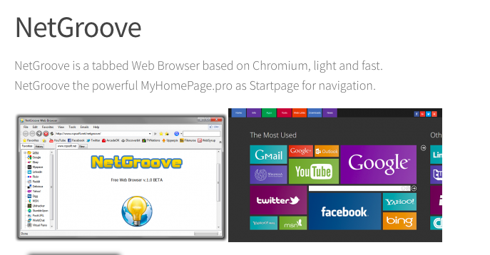 NetGroove Web Browser