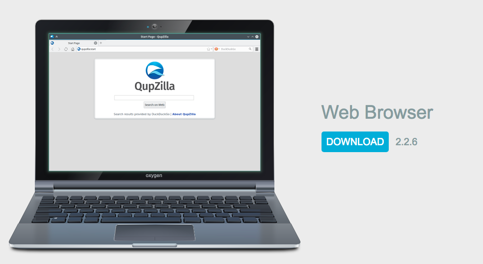 QupZilla Open-Source Browser