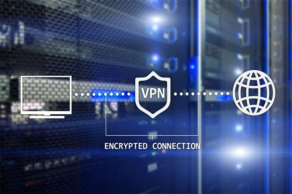 VPN Encrypted Connection
