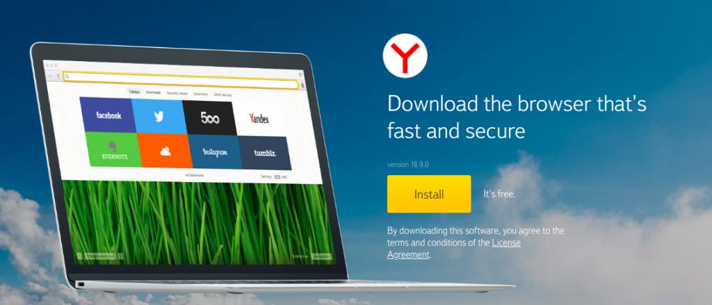Yandex Web Browser